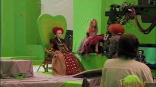 getlinkyoutube.com-Alice In Wonderland-Behind the Scenes