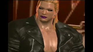 Big Rosie - huge female wrestler - entrance at the Amazon Club
