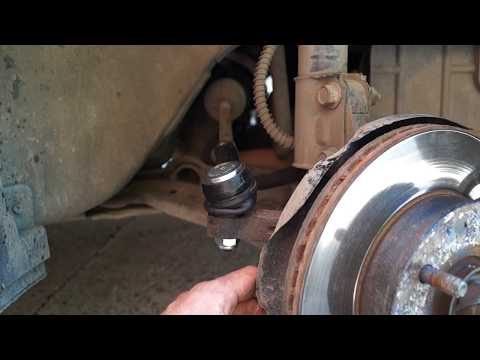 Замена рулевого наконечника Hyundai Accent.Replacing the steering tip HYUNDAI ACCENT