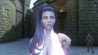 getlinkyoutube.com-Skyrim Mod Review 124 - WIDOWMAKER'S SECRET SEX TAPE! Overwatch in Skyrim? - Series: Boobs and Lubes