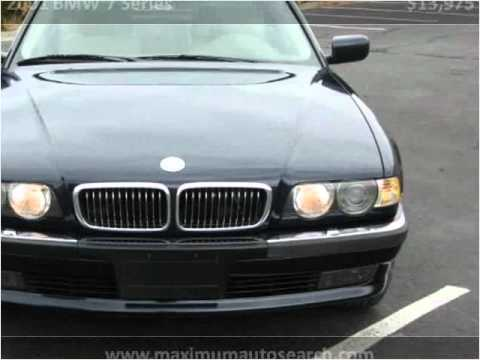 2001 bmw 7 series problems online manuals and repair information. Black Bedroom Furniture Sets. Home Design Ideas