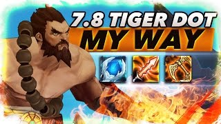 7.8 New Tiger Dot Udyr My Way - Trick2G