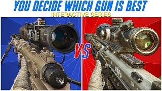 getlinkyoutube.com-MW2 INTERVENTION vs BO2 DSR-50 Call of Duty: VERSUS SERIES