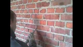 Renowacja, Piaskowanie starej cegły