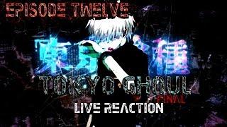 getlinkyoutube.com-LIVE REACTION!! Tokyo Ghoul Episode 12[FINAL]
