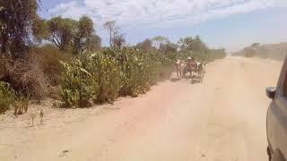 d'Amboasary à Behara pour l'évangélisation et le don des vivres