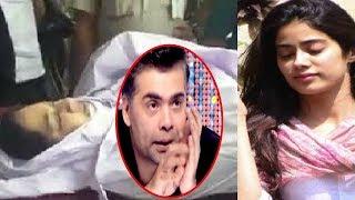 Karan Johar Revealed Sridevi's Death To Jhanvi Kapoor