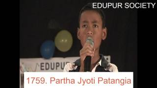 Singing by Partha Jyoti Patangia