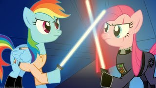 getlinkyoutube.com-Star Wars Re-enacted by Ponies