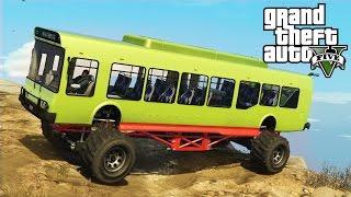 getlinkyoutube.com-★ GTA 5 - INSANE Monster Bus Mod! Epic Off-Roading Mod Showcase! (GTA V PC Mods)