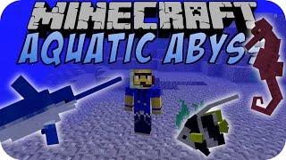 getlinkyoutube.com-Minecraft AQUATIC ABYSS MOD [Deutsch]