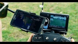 getlinkyoutube.com-DJI Phantom on Steroids - DSLRPros.com Ultimate Aerial Film Drone with FPV OSD & Telemetry