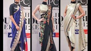 getlinkyoutube.com-How to wear a Dhoti Saree