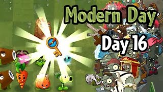 getlinkyoutube.com-Plants vs Zombies 2 - Modern Day - Day 16: Ultimate Battle