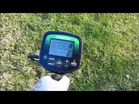 #1 metal detecting with teknetics delta 4000 detector