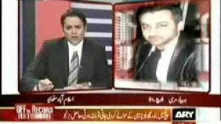 Hyrbyair Marri interview on Off The Record -2