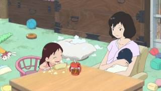 getlinkyoutube.com-Wolf Children Official Clip -A Mother's Love (English)