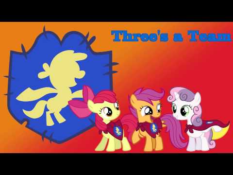 Three's a Team - Original song by 4EverfreeBrony