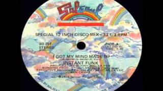 getlinkyoutube.com-Instant Funk - Got My Mind Made Up 1978 disco version