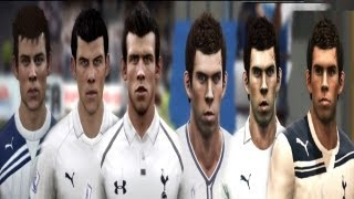 getlinkyoutube.com-Gareth BALE from FIFA 08 to FIFA 13 | PES 2008 to PES 2013