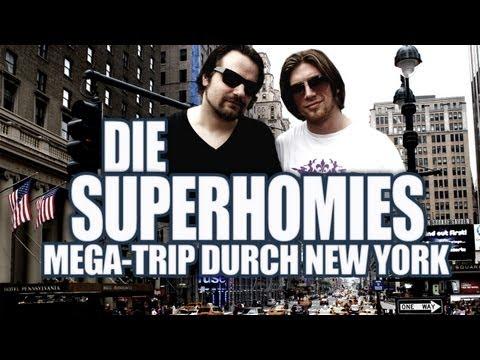 Die Superhomies in den USA - Mega-Trip durch New York (mit Gronkh und Sarazar)