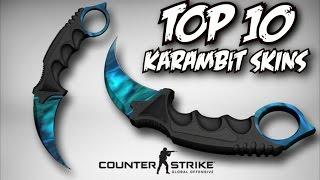 getlinkyoutube.com-TOP 10 CS:GO KARAMBIT (KNIFE) SKINS @WORKSHOP!