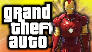 getlinkyoutube.com-GTA 5: Iron Man in GTA! - (GTA 5 Mods Funny Moments)