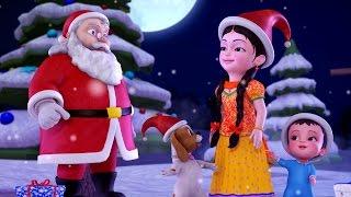 getlinkyoutube.com-Jingle Bells Christmas Songs for Kids | Hindi Rhymes for Children | Infobells