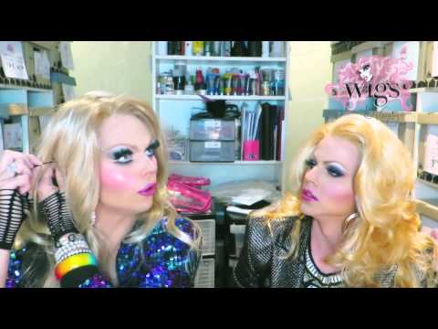 Courtney & Vanity show you how to put on a Wigs By Vanity Über Riah