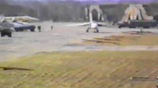 89 бап в Шпротаве 1992 год  - взлет разведчика погоды