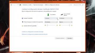 getlinkyoutube.com-Configurar el tiempo en el que tu PC entra en estado de suspension