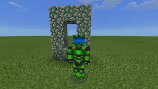 getlinkyoutube.com-MODS PARA Minecraft PE 0.14.1 | DUNGEON PORTAL MOD Y TIERRA A DIAMANTES MOD | CREEPER TROLEADOR