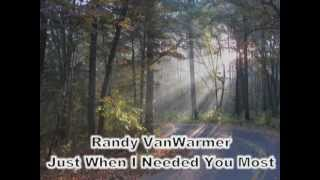 getlinkyoutube.com-Just When I Needed You Most - Randy VanWarmer (with lyrics)