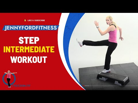 STEP AEROBICS - 'Step by Step 2' - JENNY FORD