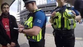 getlinkyoutube.com-(Homeless) Police Fail to intimidate MAKE A STAND member