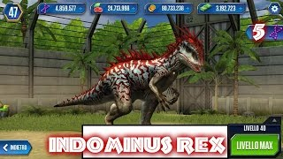 getlinkyoutube.com-Jurassic World - LEVEL 40 INDOMINUS REX