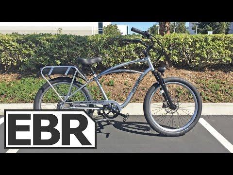 Pedego Platinum Interceptor Video Review - Premium Cruiser Electric Bicycle