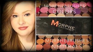 getlinkyoutube.com-MorpheBrushes Full Eyeshadow Collection + Swatches