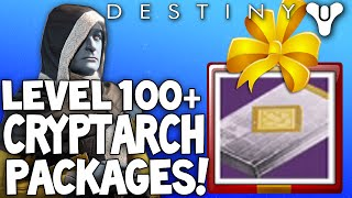 Destiny: Cryptarch Rank 100+ / Legendary Postmaster Package Openings