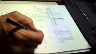 getlinkyoutube.com-رسم هندسى اعدادى المحاضره السابعه - Engineering Drawing Lecture 7