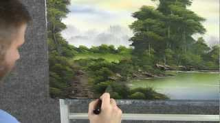 getlinkyoutube.com-Paint with Kevin Hill - Morning by the Lake