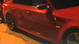 getlinkyoutube.com-Махачкала - Гонки Mercedes Benz E 5.5 AMG против BMW M5