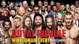 getlinkyoutube.com-WWE Royal Rumble 2015 - Royal Rumble Match - WWE 2K15