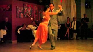 "Ivan Romero et Silvana Nunez, ""Sinsabor"" (tango)."