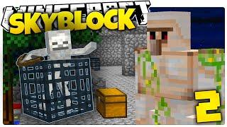 getlinkyoutube.com-Minecraft | IRON GOLEM ARMY | Skyblock Survival [2]