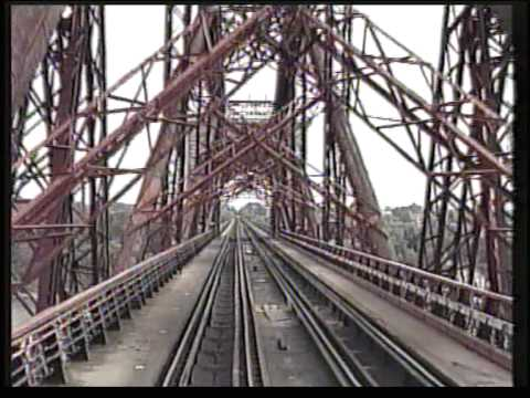 Cab ride over the Forth bridge