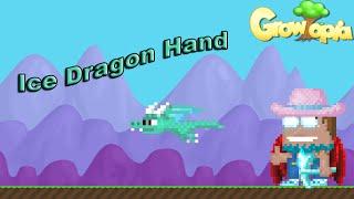 getlinkyoutube.com-Growtopia - Making Ice Dragon Hand!