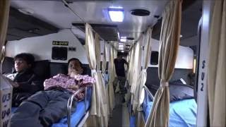 getlinkyoutube.com-Beautiful Multi Axle Scania Bus Of National Travels Called Mughal E Azam - Inside Out In Mumbai