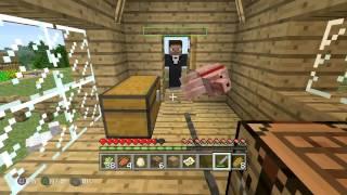 getlinkyoutube.com-Minecraft 廃鉱探検、村襲撃、新たな住人 6時間ぶっ続け!