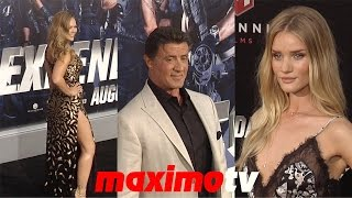 "getlinkyoutube.com-""The Expendables 3"" LA Premiere Sylvester Stallone, Ronda Rousey, Jason Statham, Dolph Lundgren"
